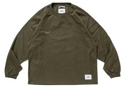 Wtaps Smock LS Cotton Twill Olive Drabの写真