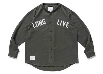 Wtaps League LS Cotton Flannel Olive Drabの写真