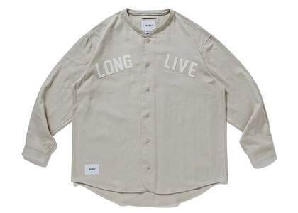 Wtaps League LS Cotton Flannel Beigeの写真