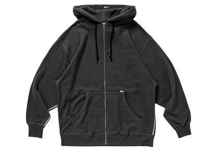 Wtaps Blank Zip Hooded Cotton Blackの写真