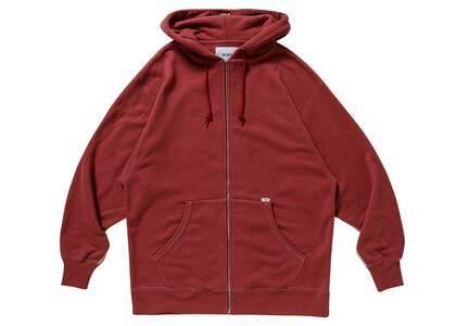 Wtaps Blank Zip Hooded Cotton Redの写真