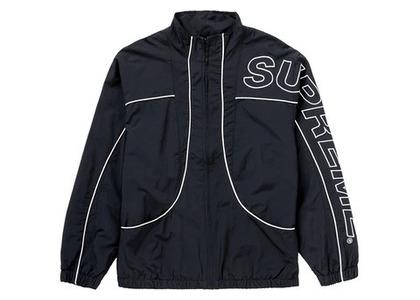Supreme Piping Track Jacket (FW20) Blackの写真