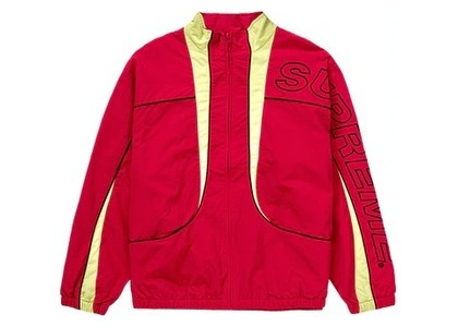 Supreme Piping Track Jacket (FW20) Redの写真