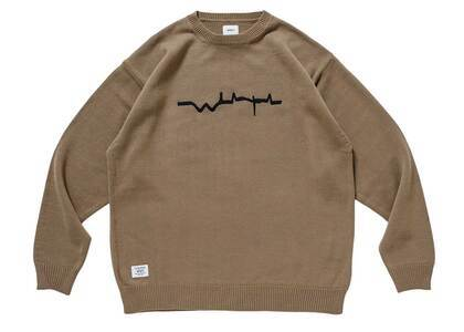 Wtaps Vibes Sweater Acrylic Coyote Brownの写真