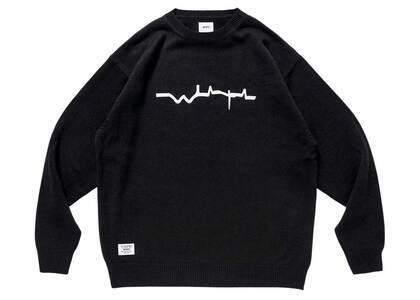 Wtaps Vibes Sweater Acrylic Blackの写真