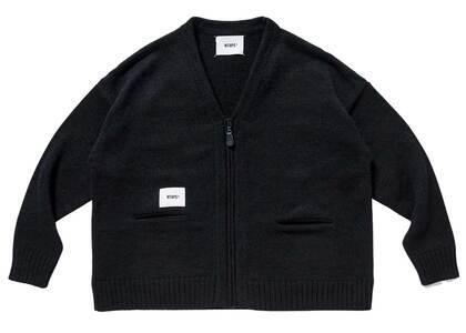 Wtaps Palmer Sweater Poly Blackの写真