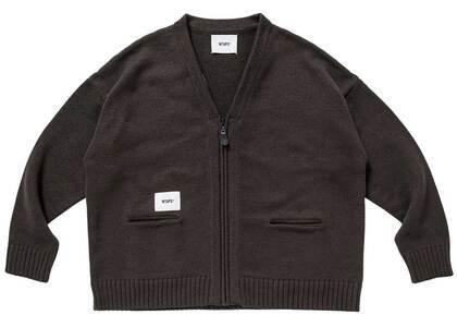 Wtaps Palmer Sweater Poly Brownの写真
