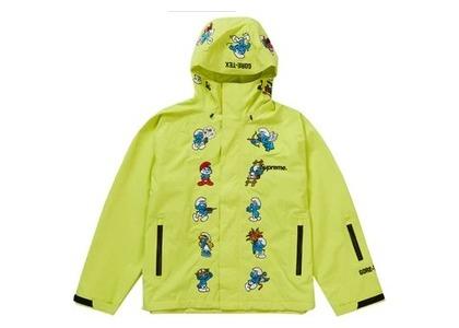 Supreme Smurfs GORE-TEX Shell Jacket Bright Yellowの写真