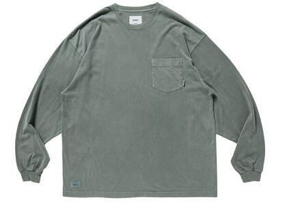 Wtaps Blank 01 LS Cotton Olive Drabの写真
