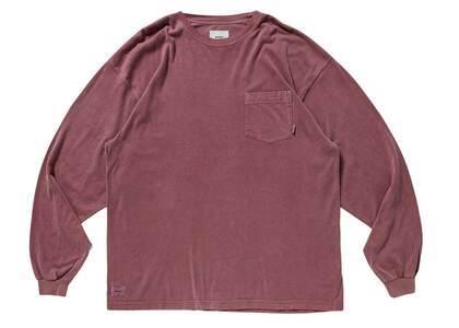 Wtaps Blank 01 LS Cotton Redの写真