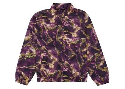 Supreme Marble Track Jacket Purpleの写真