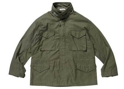 Wtaps WMILL-65 Jacket Nyco Satin Cordura Olive Drabの写真