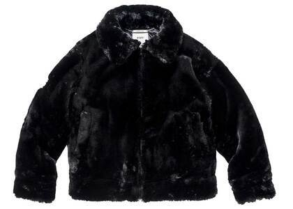 Wtaps Grizzly Jacket Poly Fur Blackの写真