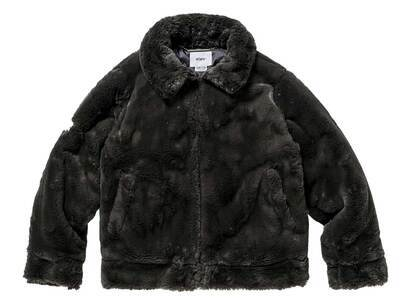 Wtaps Grizzly Jacket Poly Fur Grayの写真