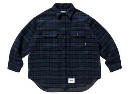 Wtaps WCPO 02 Jacket Wopo Mosser Textile Greenの写真