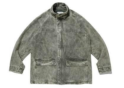 Wtaps W2002MOD Jacket Cotton Denim Olive Drabの写真