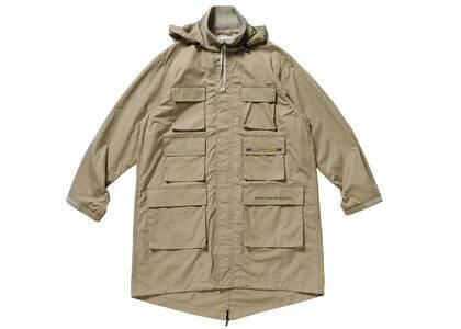 Wtaps Handler Jacket Cotton Weather Beigeの写真