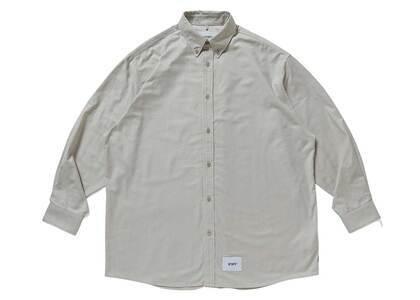 Wtaps BD 01 LS Cotton Oxford Beigeの写真