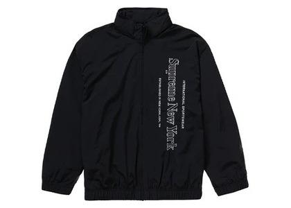 Supreme Side Logo Track Jacket Blackの写真