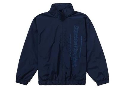 Supreme Side Logo Track Jacket Navyの写真