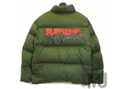 Supreme Yohji Yamamoto Down Jacket Oliveの写真