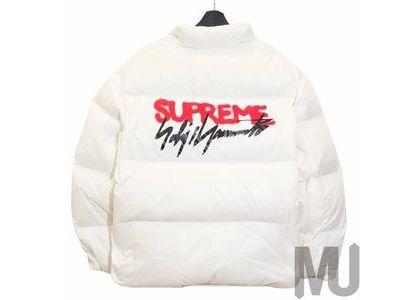 Supreme Yohji Yamamoto Down Jacket Whiteの写真