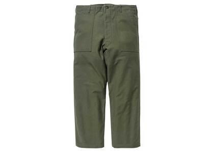 Wtaps WMILL-Trouser 02 Trousers Cotton Satin Olive Drabの写真