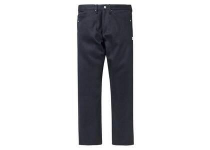 Wtaps Blues Skinny Trousers Cotton Denim Blackの写真