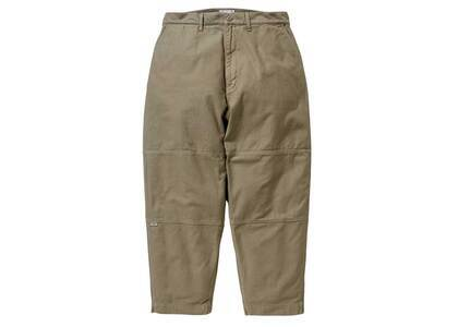 Wtaps Armstrong Trousers Cotton Satin Beigeの写真
