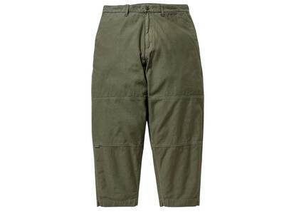 Wtaps Armstrong Trousers Cotton Satin Olive Drabの写真