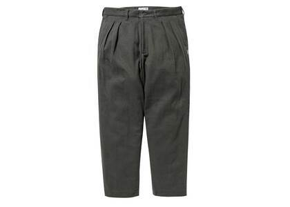 Wtaps Tuck 01 Trousers Cotton Flannel Coyote Brownの写真
