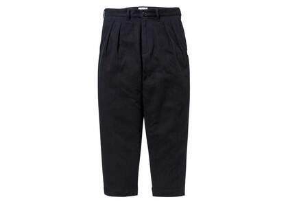 Wtaps Tuck 01 Trousers Cotton Flannel Blackの写真