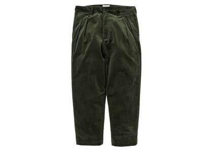 Wtaps Tuck 02 Trousers Cotton Corduroy Olive Drabの写真