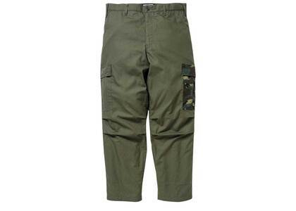 Wtaps Jungle Stock Trousers Cotton Ripstop Olive Drab (FW21)の写真