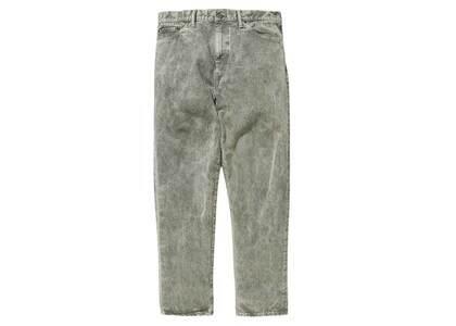 Wtaps Blues Baggy 01 Trousers Cotton Denim Olive Drabの写真