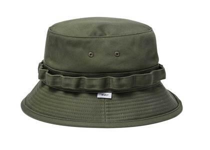 Wtaps Jungle 02 Hat Cotton Twill Olive Drabの写真