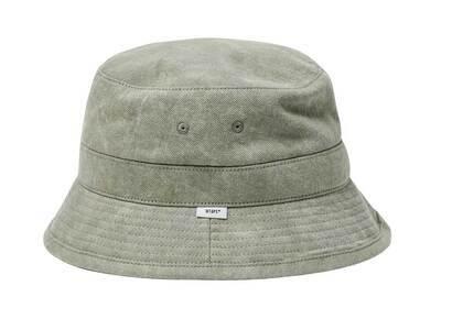 Wtaps Bucket 01 Hat Cotton Denim Olive Drabの写真