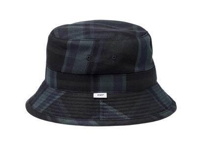 Wtaps Bucket 03 Hat Cotton Flannel Textile Greenの写真
