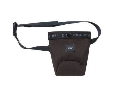 Wtaps Uproot Pouch Poly Cordura Brownの写真