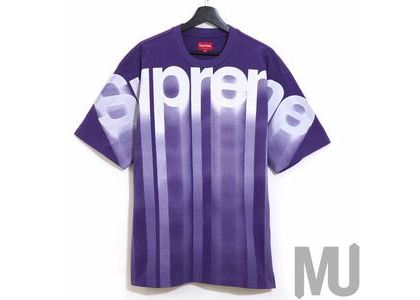 Supreme Bleed Logo S-S Top Purpleの写真