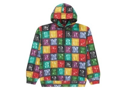 Supreme Blocks Hooded Sweatshirt Multicolorの写真