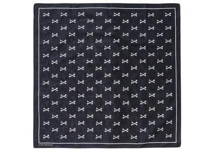Wtaps Bandaria Bandana Cotton Black (FW21)の写真