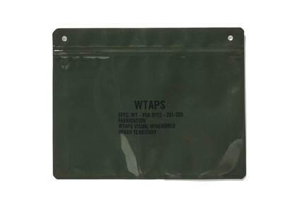 Wtaps The Filler Pouch Polyethylene Pake Olive Drabの写真