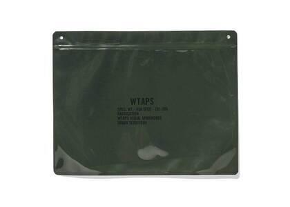 Wtaps The Tech Pouch Polyethylene Pake Olive Drabの写真