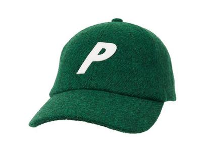 Palace Harris Tweed 6-Panel Green (FW21)の写真
