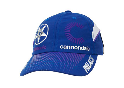 Palace x Cannondale Mad Boy 6-Panel Blue (FW21)の写真