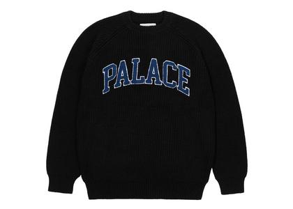 Palace Collegiate Knit Black (FW21)の写真