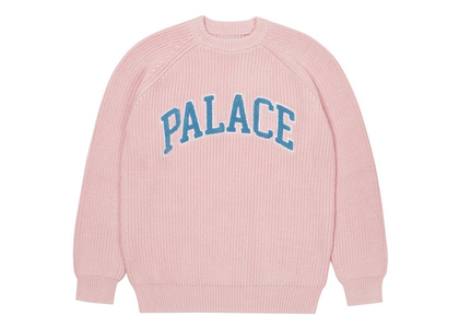 Palace Collegiate Knit Pink (FW21)の写真