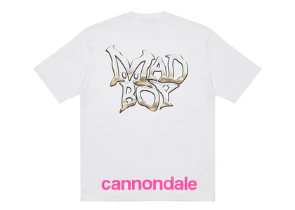 Palace x Cannondale Mad Boy 2 T-shirt White (FW21)の写真