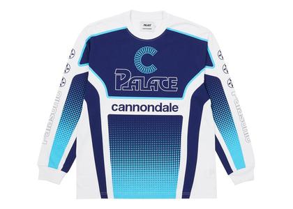 Palace x Cannondale Mad Boy Longsleeve White (FW21)の写真